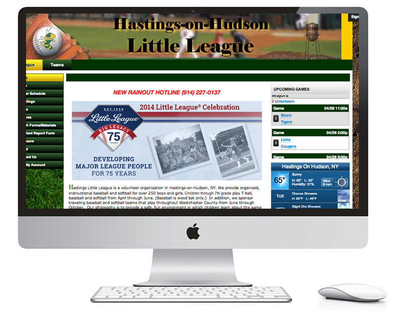 Hastings-on-Hudson Little League